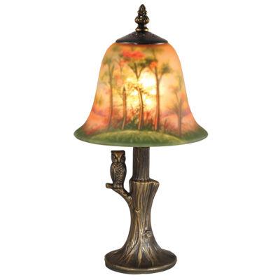 Dale Tiffany™ Hand-Painted Owl Mini Lamp
