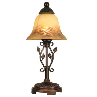 Dale Tiffany™ Reverse Painted Floral Accent Lamp