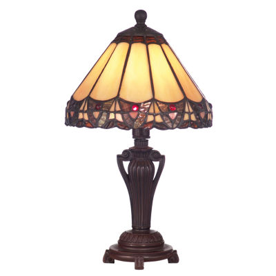 Dale Tiffany™ Peacock Accent Lamp