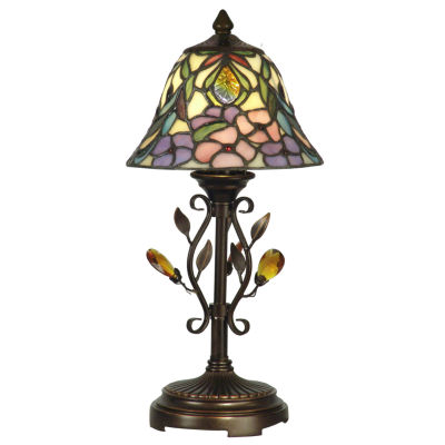 Dale Tiffany™ Crystal Peony Accent Lamp