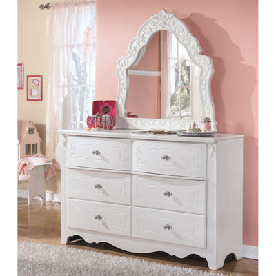 Signature Design by Ashley® Exquisite French Dresser and Mirror