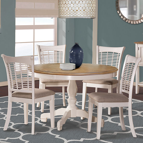 Bayberry 5 Pc Round Dining Table Set