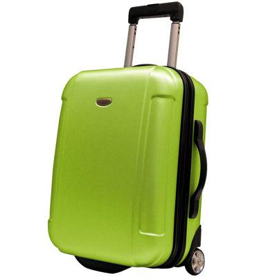 """Traveler's Choice® Freedom 21"""" Lightweight Hard-Shell Wheeled Upright Luggage"""