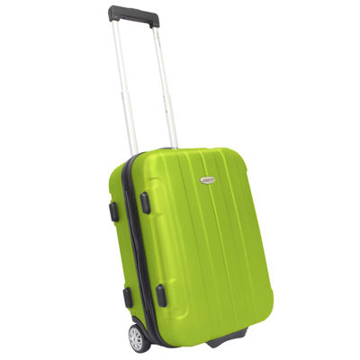 "Traveler's Choice® Rome 21"" Hard-Shell Carry-On Upright Luggage"