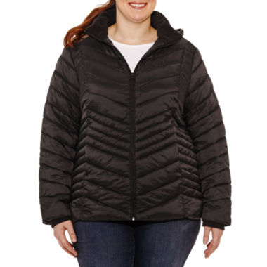 Xersion Midweight Puffer Jacket-Plus