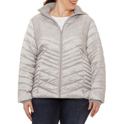 Xersion Midweight Puffer Jacket-Plus