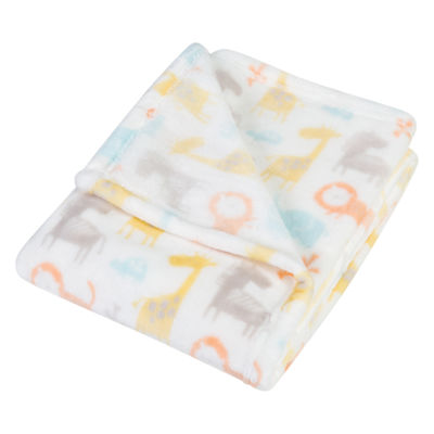 Trend Lab Crayon Jungle Receiving Blanket