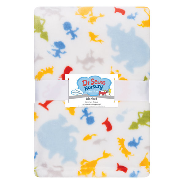 Trend Lab Dr. Seuss Receiving Blanket