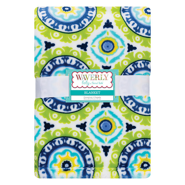 Trend Lab Waverly Solar Flair Receiving Blanket