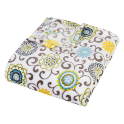 Trend Lab Waverly Pom Pom Spa Throw