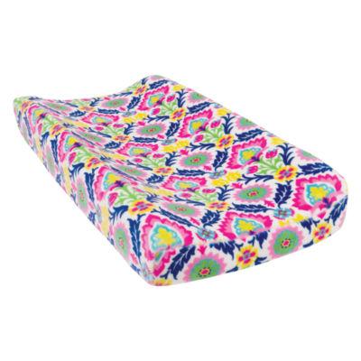 Trend Lab Santa Maria Plush Changing Pad Cover