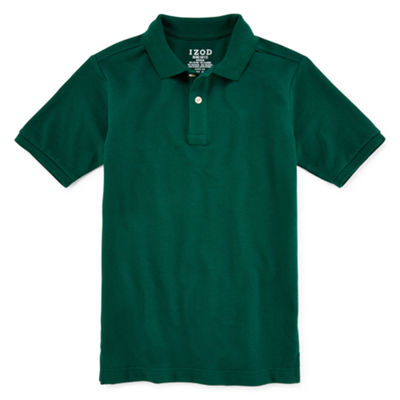 IZOD® Stretch Piqué Short Sleeve Polo - Boys 8-20 and Husky