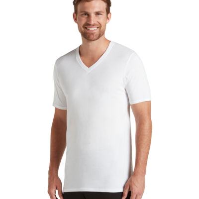 Jockey® 2-pk. Staycool Plus V-Neck T-Shirts - Big & Tall