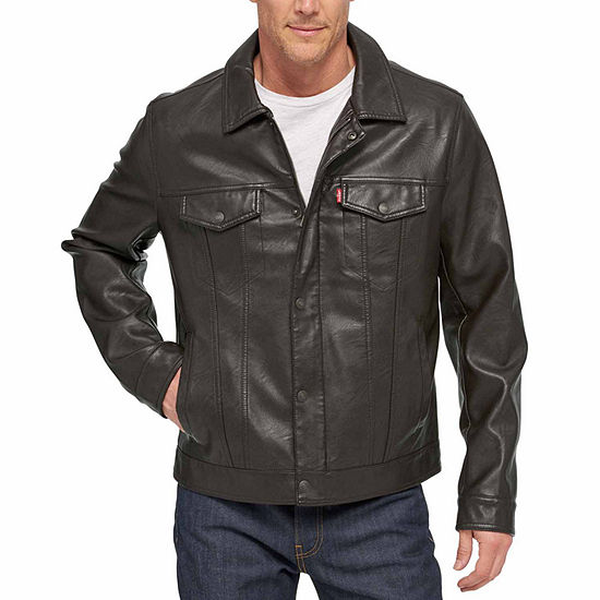 a86cff716 Levi's® Faux Leather Trucker Jacket