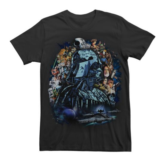 Star Wars Artistic Collage Graphic Tee