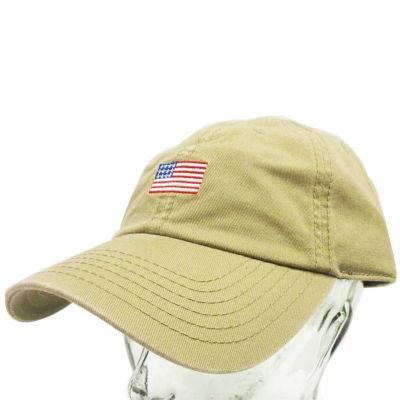 American Flag Khaki Dad Cap