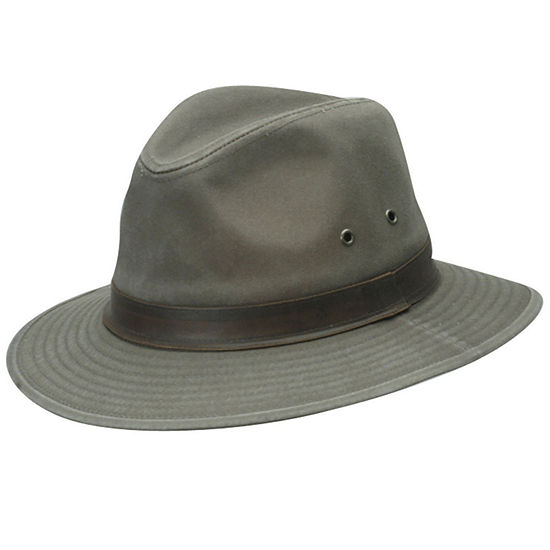 b373c808d Dorfman Pacific® Washed Twill Safari Hat