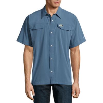 Mossy Oak Short Sleeve Button-Front Shirt