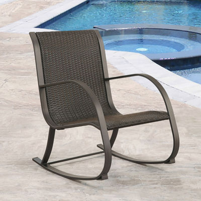 Devon & Claire Marcela Patio Rocking Chair