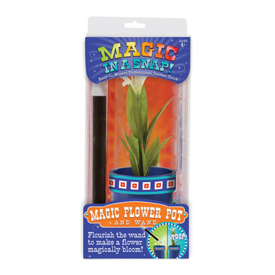 Melissa & Doug® Magic in a Snap Magic Flower Potand Wand
