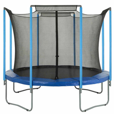 Upper Bounce Trampoline Replacement Enclosure Safety Net: Fits For 13  ft Using 4 Arches (NET ONLY)