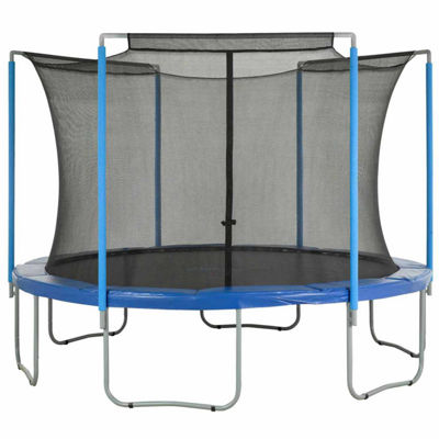Upper Bounce Trampoline Replacement Enclosure Safety Net: Fits For 14  ft Using 3 Arches (NET ONLY)