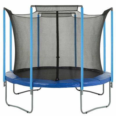 Upper Bounce Trampoline Replacement Enclosure Safety Net: Fits For 14  ft Using 4 Arches (NET ONLY)