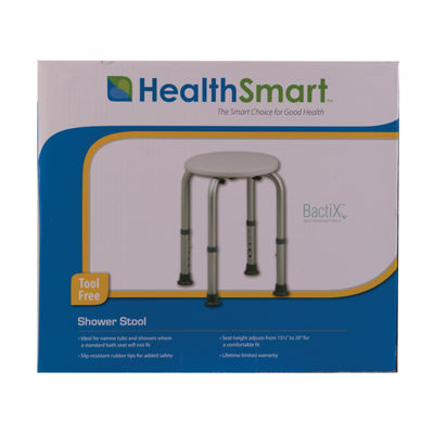HealthSmart Compact Lightweight Shower Stool