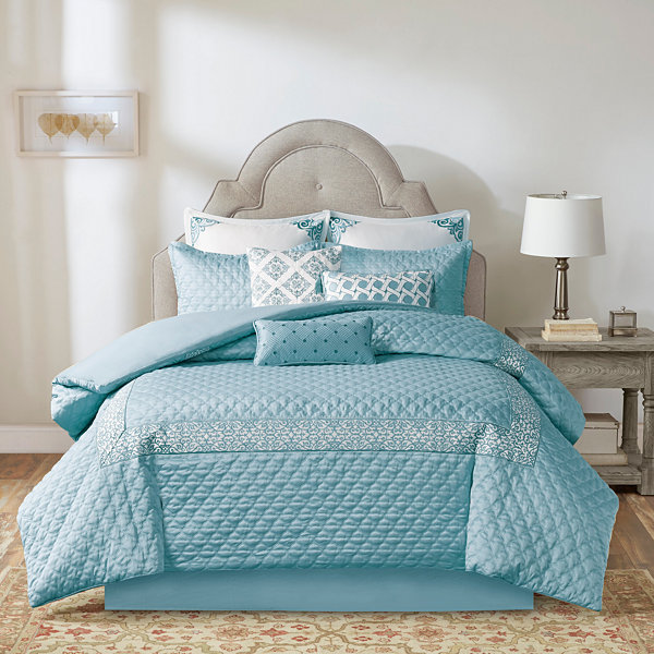 Bombay Emerson Damask + Scroll Comforter Set