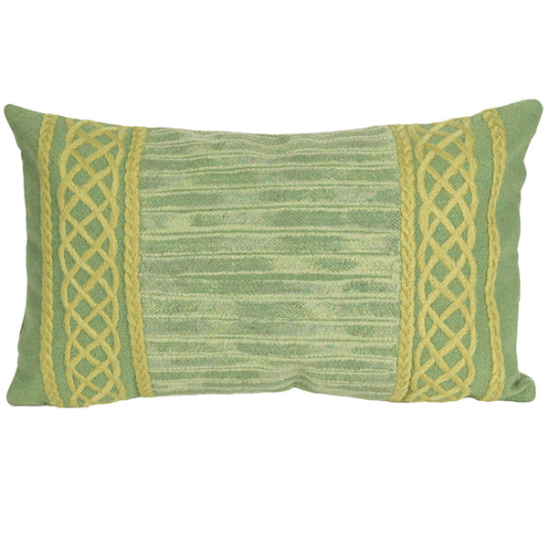 Liora Manne Visions Ii Celtic Stripe Rectangular Outdoor Pillow
