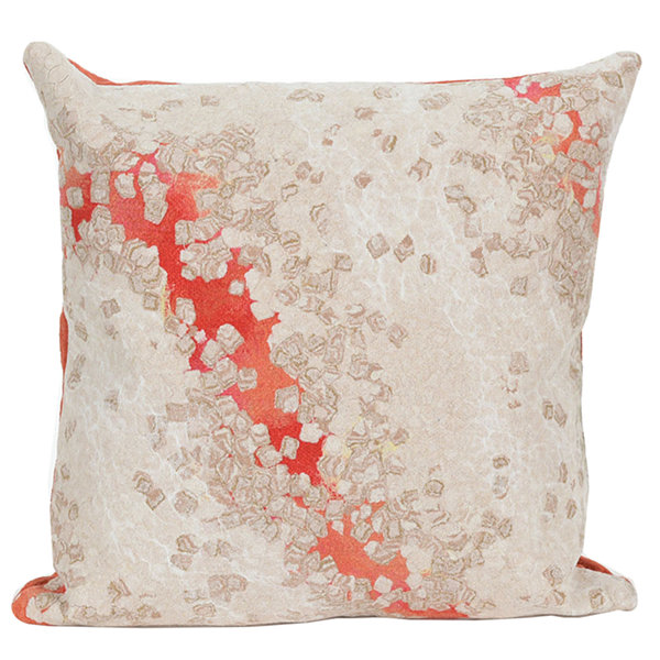 Liora Manne Visions Iii Elements Square Outdoor Pillow