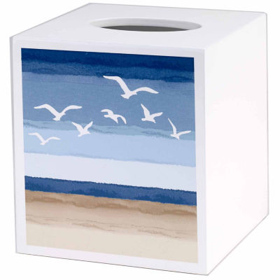 Avanti Seagulls Tissue Box Cover
