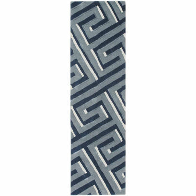 Liora Manne Roma Maze Hand Tufted Rectangular Indoor Runner
