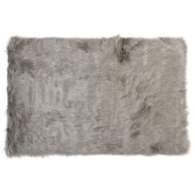 Hudson Faux Sheepskin Rectangular Rugs