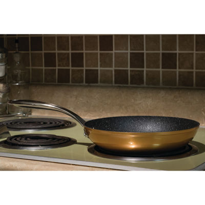"THE ROCK by Starfrit 9.5"" Copper Fry Pan"