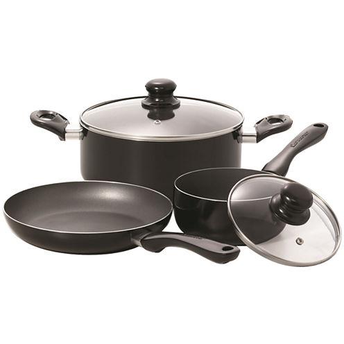 Starfrit 5-pc. Aluminum Dishwasher Safe Non-Stick Cookware Set