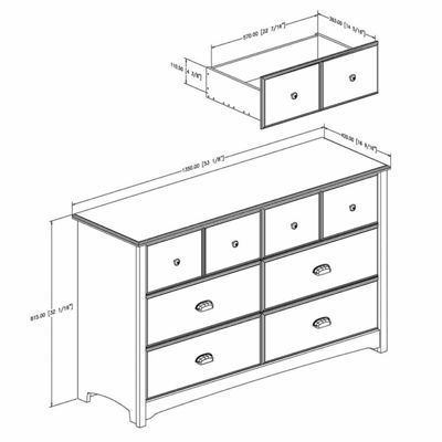 Willow 6-Drawer Dresser