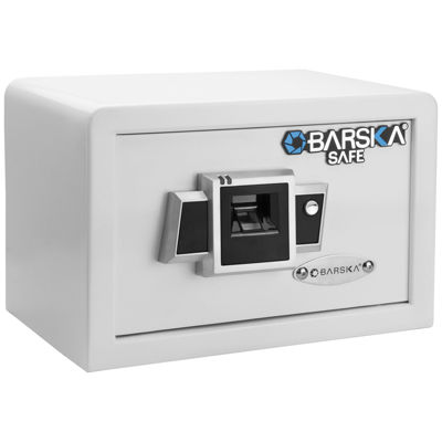 Barska Compact Biometric Safe BX-100 White
