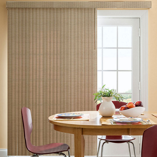 Bali Fabric Custom Vertical Blinds