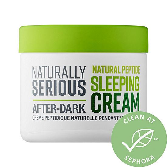Naturally Serious After-Dark Natural Peptide Sleeping Cream
