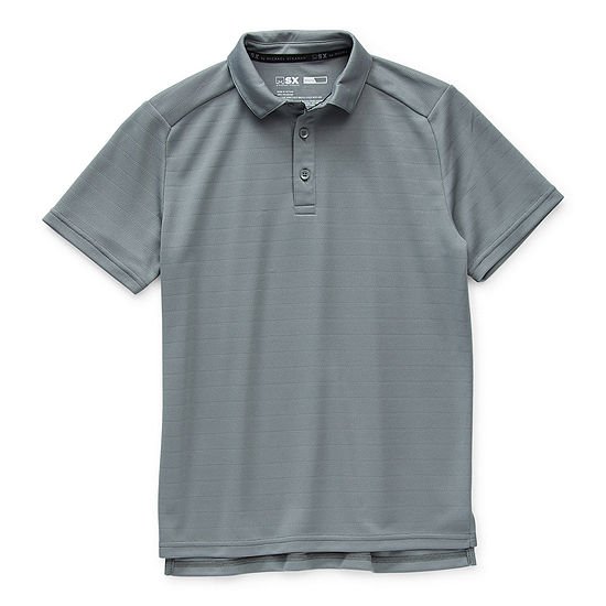 Msx By Michael Strahan Big Boys Short Sleeve Polo Shirt