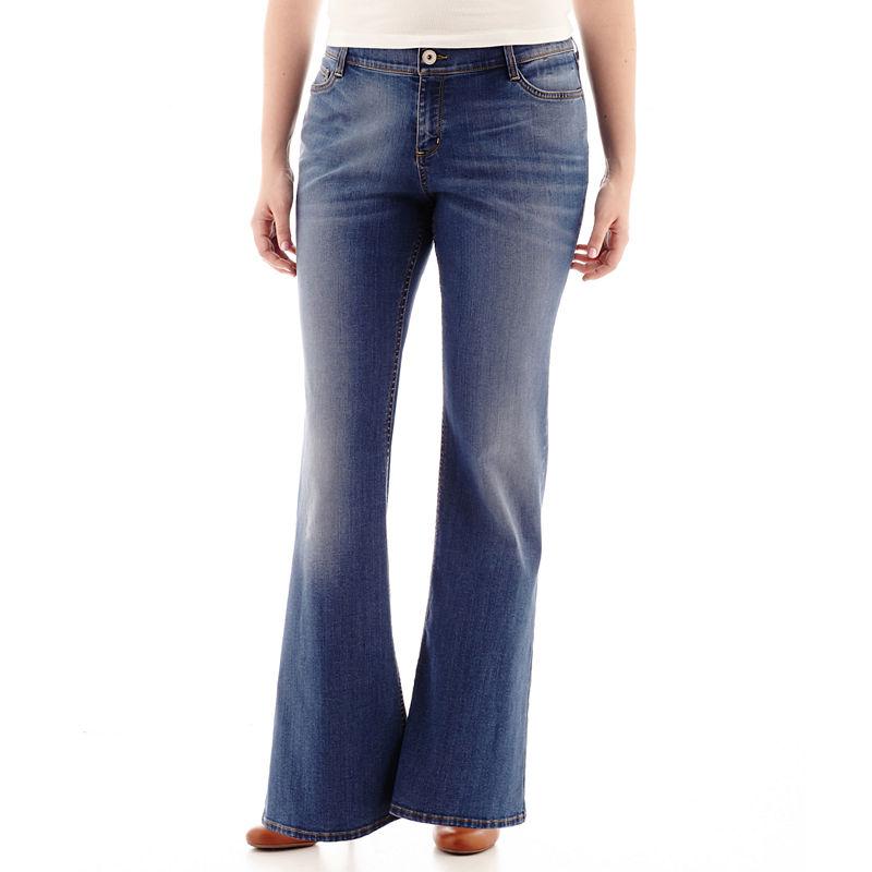 Arizona Bootcut Jeans - Juniors Plus plus size,  plus size fashion plus size appare