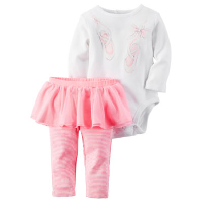 Carter's® 2-pc. Ballet Bodysuit and Pants Set - Baby Girls newborn-24m