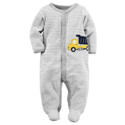 Carter's® Truck Terry Sleep-N-Play - Baby Boys newborn-9m