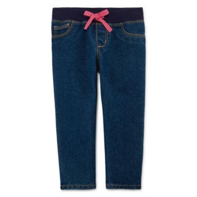 Arizona Rib Jeans - Baby Girls 3m-24m