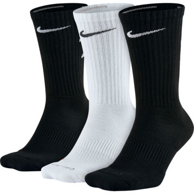 Nike® 3-pk. Dri-FIT Fly-Rise Crew Socks