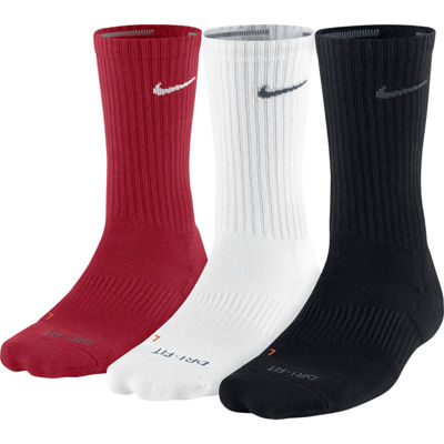 Nike® 3-pk. Dri-FIT Crew Training Socks