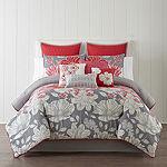 10-Pieces Home Expressions Julia Comforter Set (Multi Color)