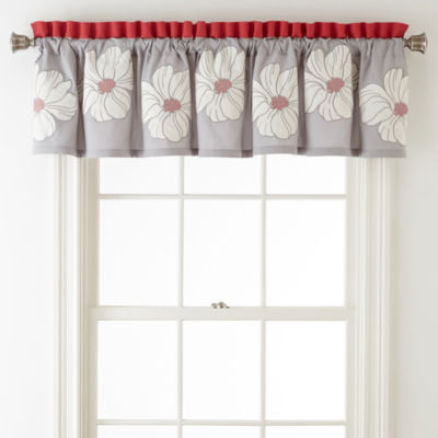 Home Expressions™ Julia Rod-Pocket Valance