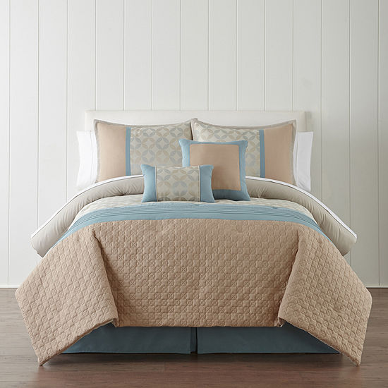 Studio™ Dylan 6-pc. Comforter Set and Accessories